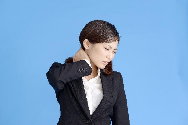 首筋の痛みの原因